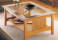craftsman coffee table plans